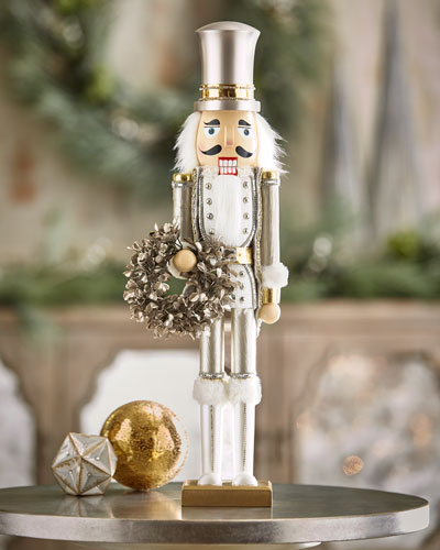 White & Silver Collection Nutcracker, 24
