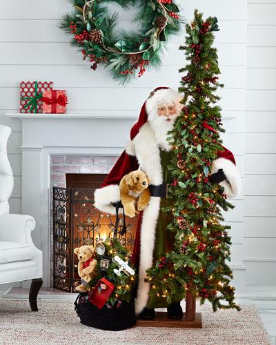 quick look - Santa Decorated Christmas Tree