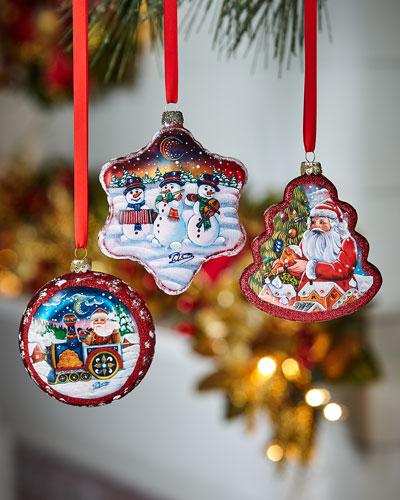 Christmas Ornaments, Set of 3