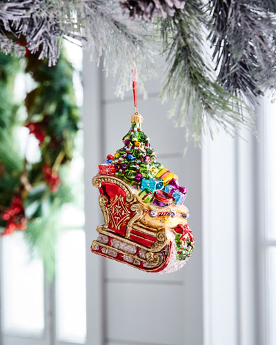 John Huras Sleigh Ornament