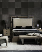 Bernhardt Annistyn Metal Accent California King Bed and