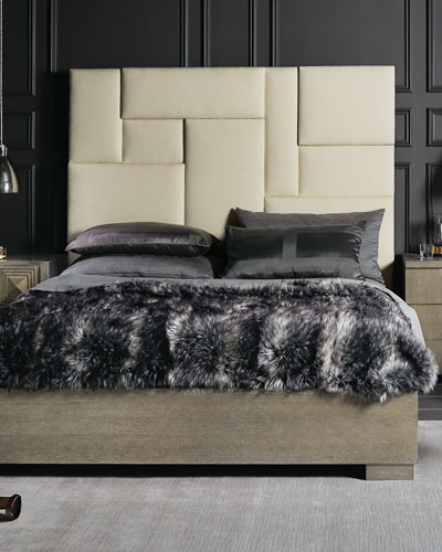 Aletha Upholstered California King Bed