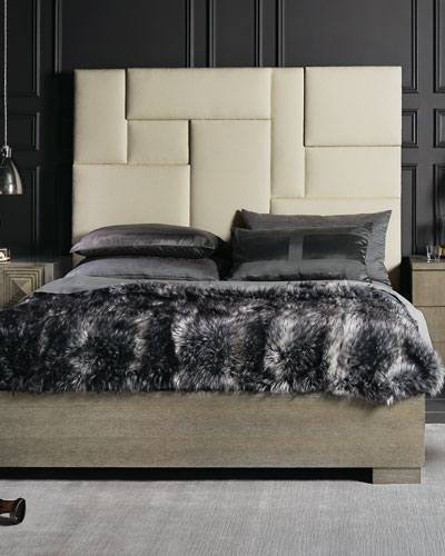 Aletha Upholstered King Bed