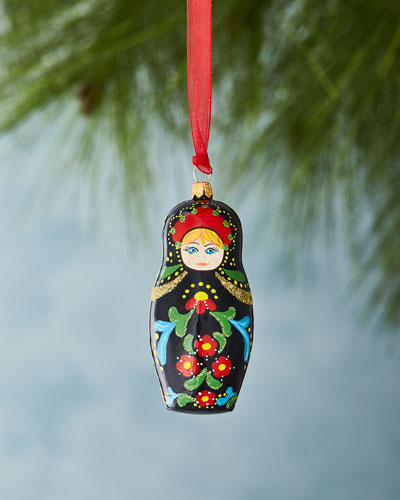 Matryoshka Christmas Ornament