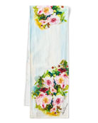 April Cornell Peony Table Runner, 72