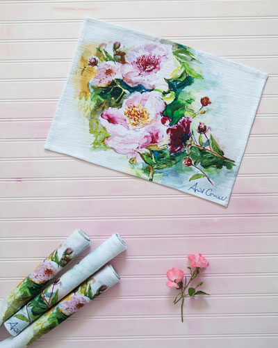Peony Placemats, Set of 4
