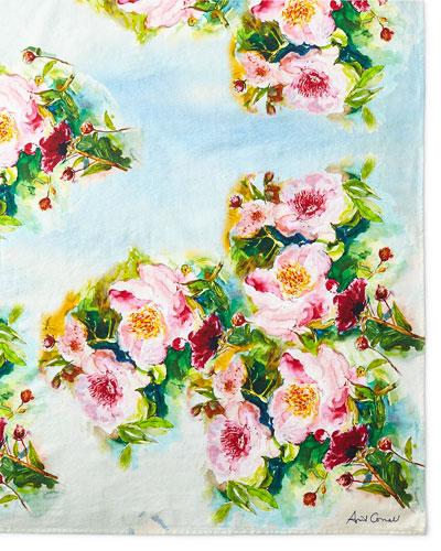 Peony Tablecloth, 60
