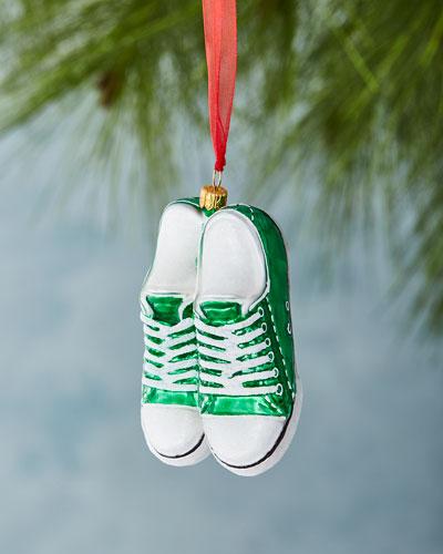 Green Low - Top Sneaker Ornament