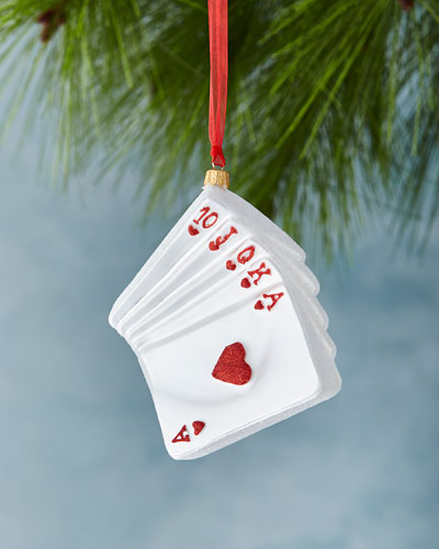 Poker Cards Ornament