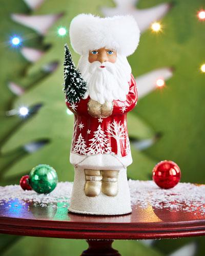 Ino Schaller Russian Santa Collectible Figurine