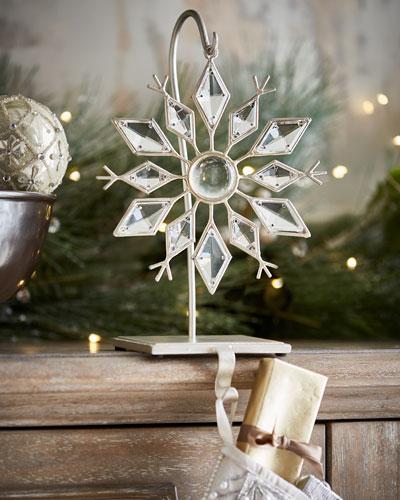 Janice Minor Snowflake Stocking Holder wi