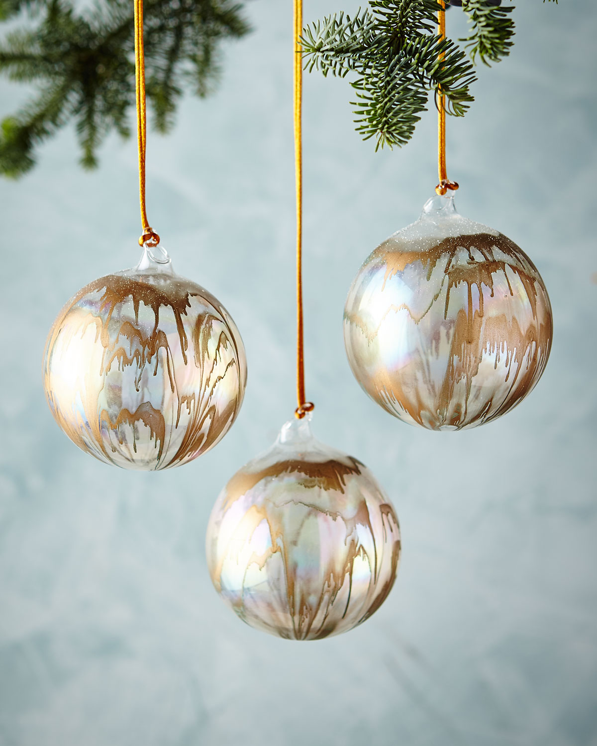 Iridescent Ball Ornament, 4