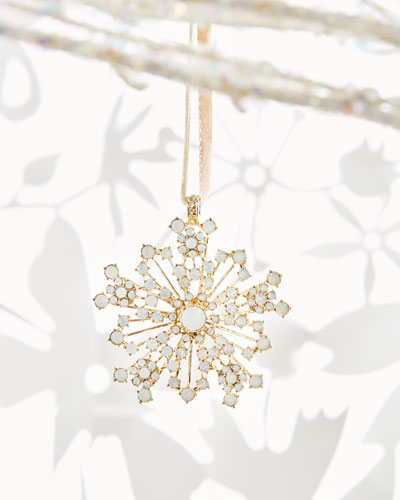 Sparkle Snowflake Ornament