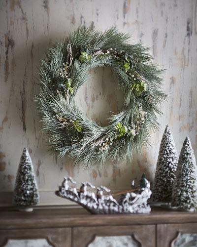 Frosted Berry Wreath