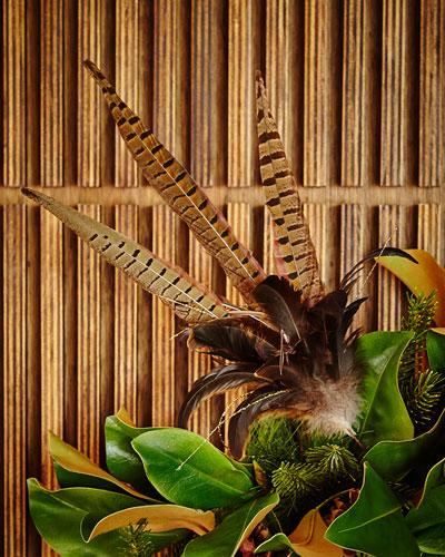 Triple Pheasant Feather Pick