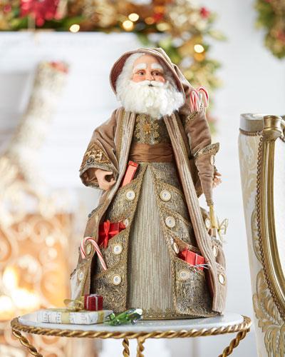 Katherine's Collection Advent Santa Cone