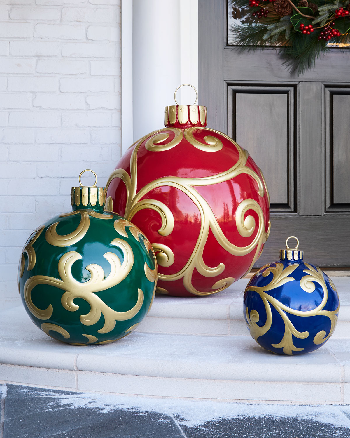 Outdoor Christmas Ornament, Small