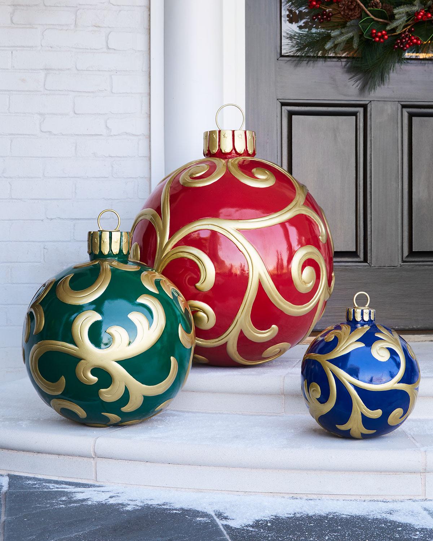 Outdoor Christmas Ornament, Medium