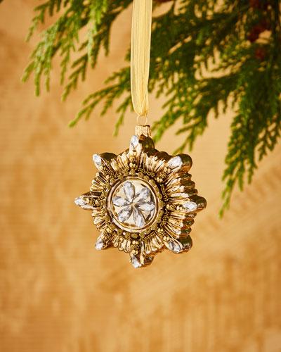 Silverado Golden Sunburst Ornament