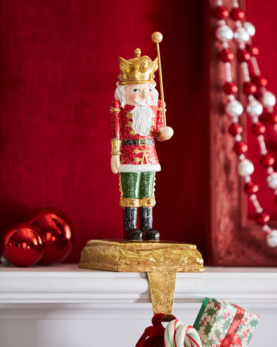 'Toy Soldier Stocking Holder, Wand Up