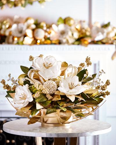 Gold & Glitter Collection Centerpiece