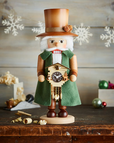 Clockmaker Nutcracker