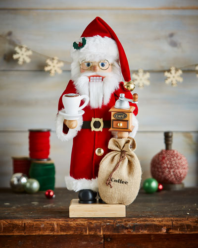 Limited-Edition Santa Barista Nutcracker