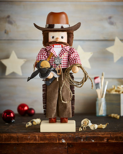 Limited-Edition Cowboy Nutcracker
