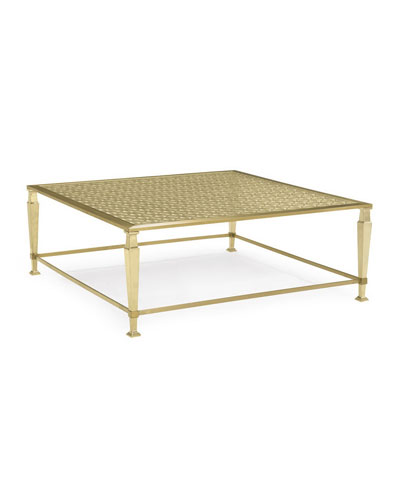 Quick Look. Caracole · Johanna Golden Square Coffee Table