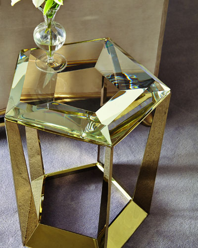 Gemstone Side Table