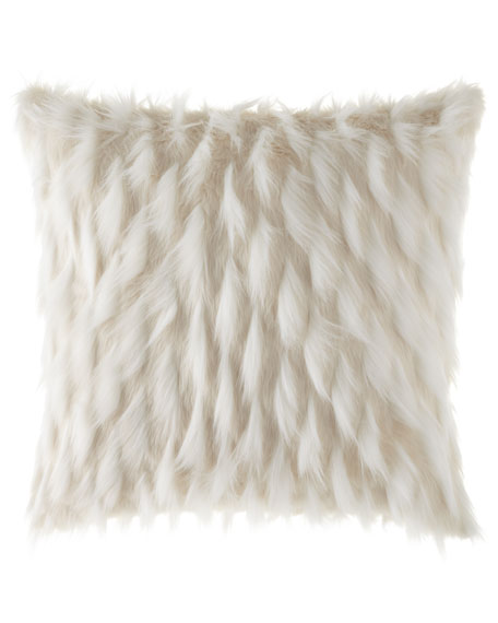 Eastern Accents Jadis Snow Pillow