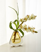 Teardrop Faux-Orchids