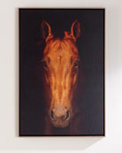 """Faithful Friend Horse Giclee, 30"""" x 40"""""""