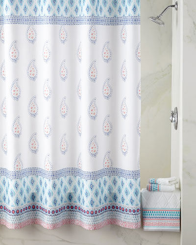 Quick Look Dena Home Boho Shower Curtain