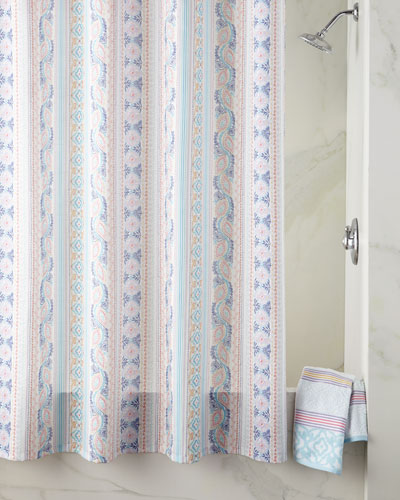 Polyester Shower Curtain Neiman Marcus