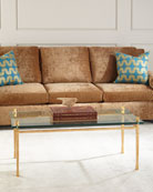 Hensley Glass Coffee Table