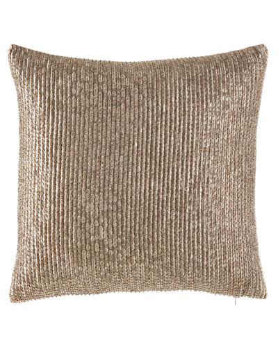 Seffina Hand Beaded Pillow