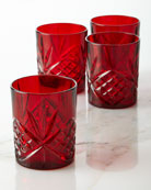 Dublin Double Old-Fashioned Glasses, Set of Four