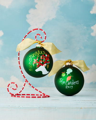 Jingle All The Way Reindeer Personalized Ornament