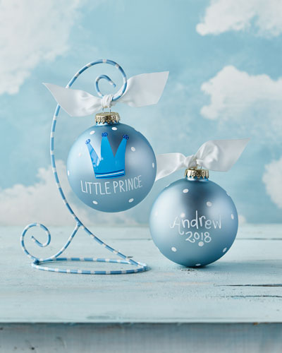 Little Prince Personalized Ornament with Stand