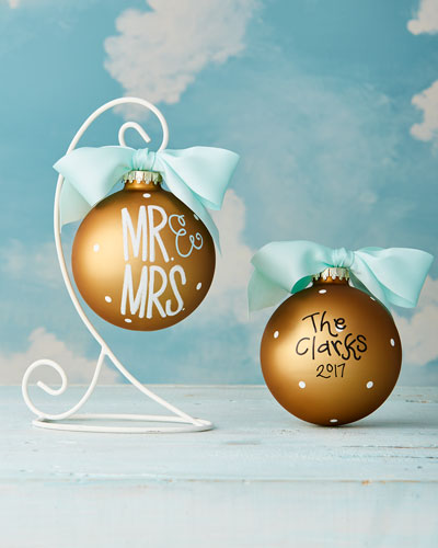 Mr. & Mrs. Christmas Ornament