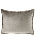 "Luxe European Chloe Velvet Pillow, 27"" x 36"""