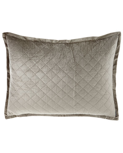 Luxe European Chloe Velvet Pillow, 27