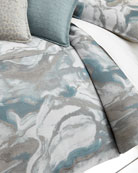 King Caspin Marbled Duvet Cover