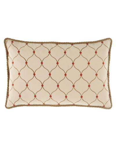 Marguerite Ogee Pillow, 17