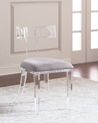 Hepburn Acrylic Accent Chair