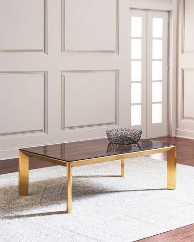 Gold Coffee Table Neiman Marcus
