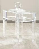 Landis Acrylic Side Table