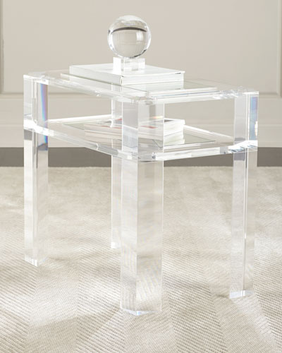 Quick Look Interlude Home Landis Acrylic Side Table Available In Clear