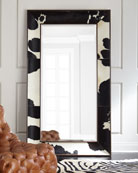 Orlana Hairhide Floor Mirror